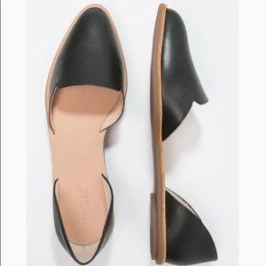 Loeffler Randall Pointed Toe Black Flats